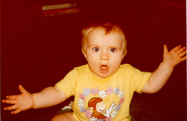 [Anna gets excited - Summer 2000]